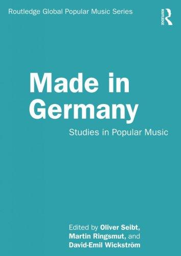 """Popakademie-Professor gibt Band der Schriftenreihe """"Global Popular Music"""" heraus"""