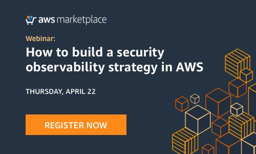 Webinar: Building a Security Observability Strategy in AWS