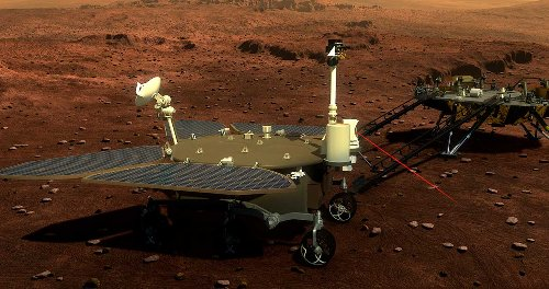 China Becomes Third Nation to Successfully Land Rover on Mars