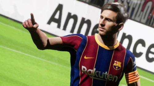PES 2022: Gameplay de la prueba de rendimiento online