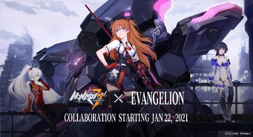 Honkai Impact 3rd's Crossover With Neon Genesis Evangelion Begins on January 22