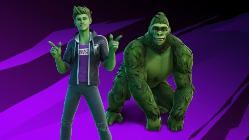 Teen Titans' Beast Boy Joins Fortnite Later This Week