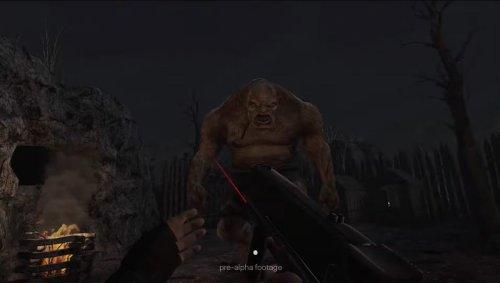 Resident Evil 4 VR Gameplay Screenshots