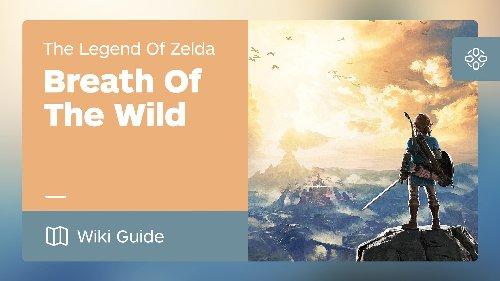 Walkthrough - The Legend of Zelda: Breath of the Wild Wiki Guide - IGN
