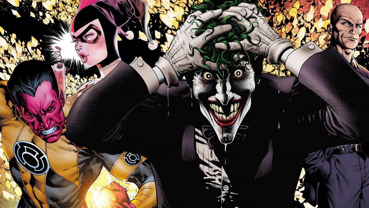 The Top 25 Villains of DC Comics