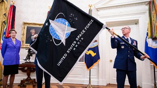 Judah Officer Makes History As He Enters The U.S. Space Force