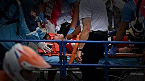 American Cyclist Suffers Horrific Crash During BMX Race at Tokyo Olympics