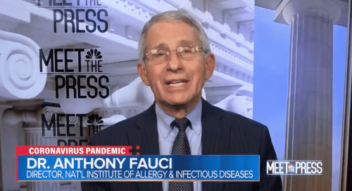 Fauci Pressed on Why Vaccinated People Need To Still Wear Masks