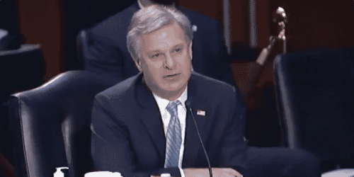 Wray Shares Stunning Statistic on the Number of China-Related Investigations the FBI Is Conducting