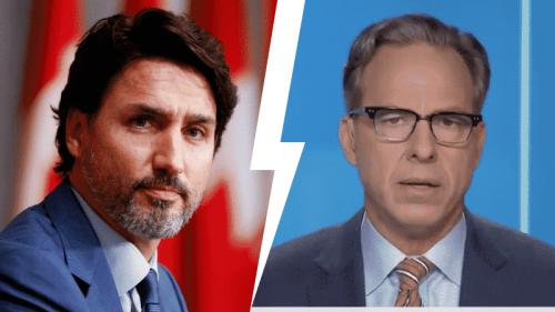 Jake Tapper Rebukes Trudeau Gov't as 'Real Failure' as Canada Passes US In COVID Cases per Capita