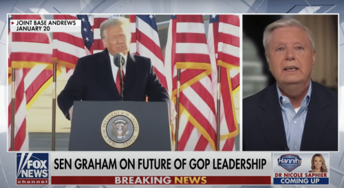 Graham: Those Who Are Trying To 'Erase' Trump Are 'Going To Wind Up Getting Erased'