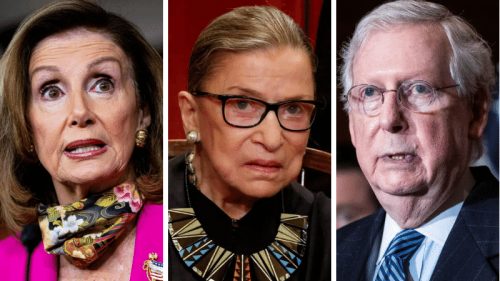 Pelosi: McConnell Rejected Proposal for Ginsburg To Lie in State in Capitol Rotunda