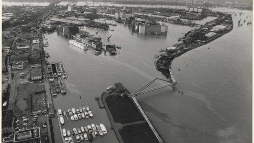 Hochwasser 1993 - An Weihnachten trat der Rhein übers Ufer