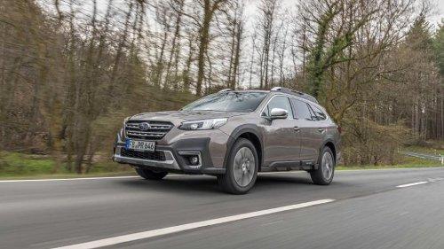 Subaru Outback startet in die nächste Generation