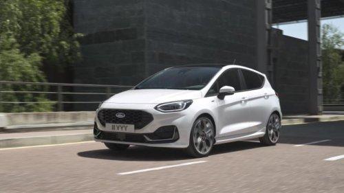 Fiesta mit neuem Look und mildem Hybrid
