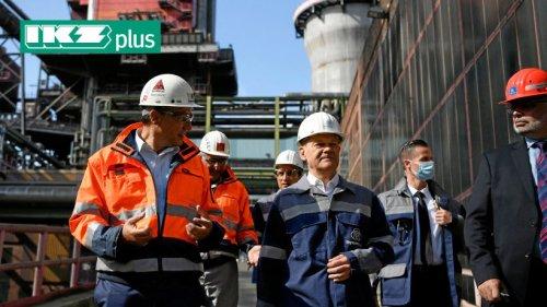 Scholz signalisiert Unterstützung für Umbau von Thyssenkrupp