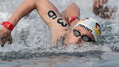 """Kaltes Wasser """"brennt"""": EM-Freiwasserschwimmen bei 15 Grad"""