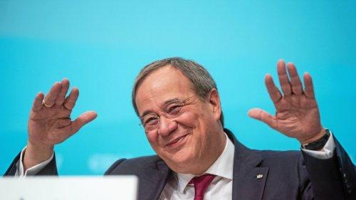 Laschet stichelt auf Parteitag der NRW-CDU gegen Söder