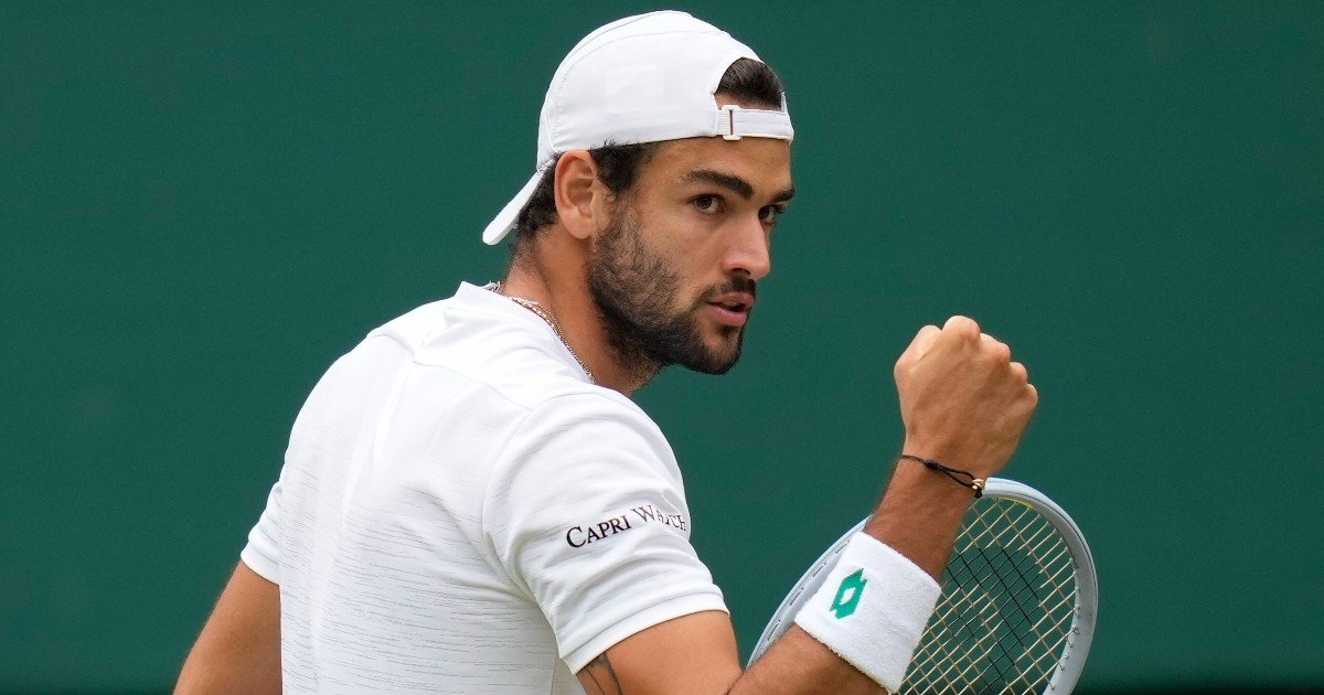 Matteo Berrettini è nella storia: prima finale a Wimbledon per un italiano