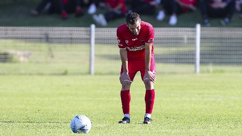 Frustrated 10-man Wollongong Wolves thrashed by Blacktown City at home