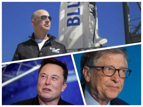 Blog   Bezos, Musk, Gates & Co. sempre più ricchi: +1.800 miliardi di dollari in 17 mesi - L'urlo