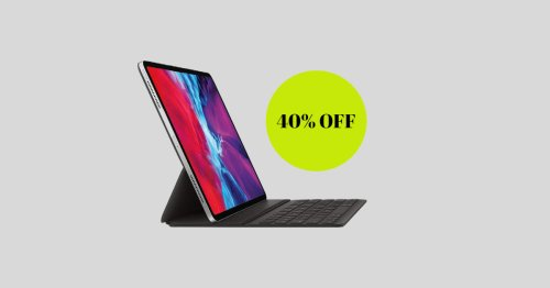This Apple Smart Keyboard Folio On Sale for 44% Off