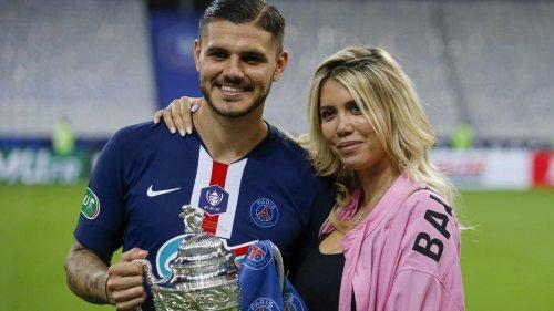 PSG : Mauro Icardi se serait séparé de sa femme et agent Wanda Nara