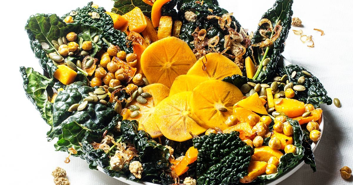 Kale And Butternut Squash Salad Is Too Refreshing