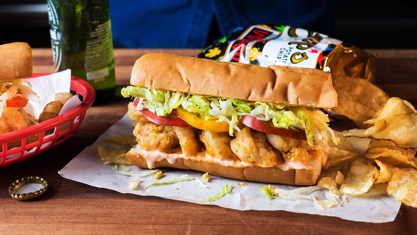 The Perfect Shrimp Po'boy Is Easier To Make Than You Think
