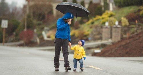 Random but Useful: Rain Pants are Better Than Any Umbrella