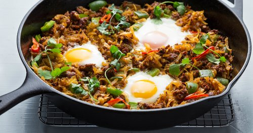 One-Pan Chorizo Hash Is What Breakfast Dreams Are Made Of