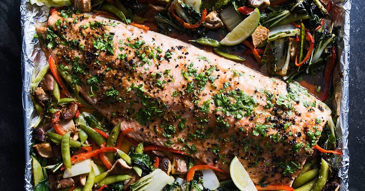 One-Pan Salmon Is A Surprisingly Simply Dinner