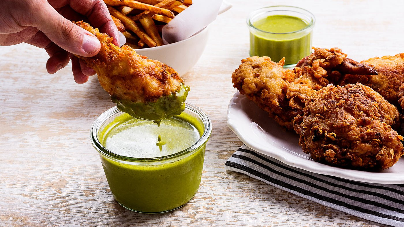 Cilantro Herb Dipping Sauce Is Too Easy Not To Try