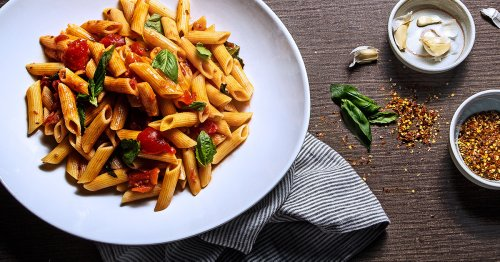 Penne Arrabiata That Packs A Deliciously Spicy Punch