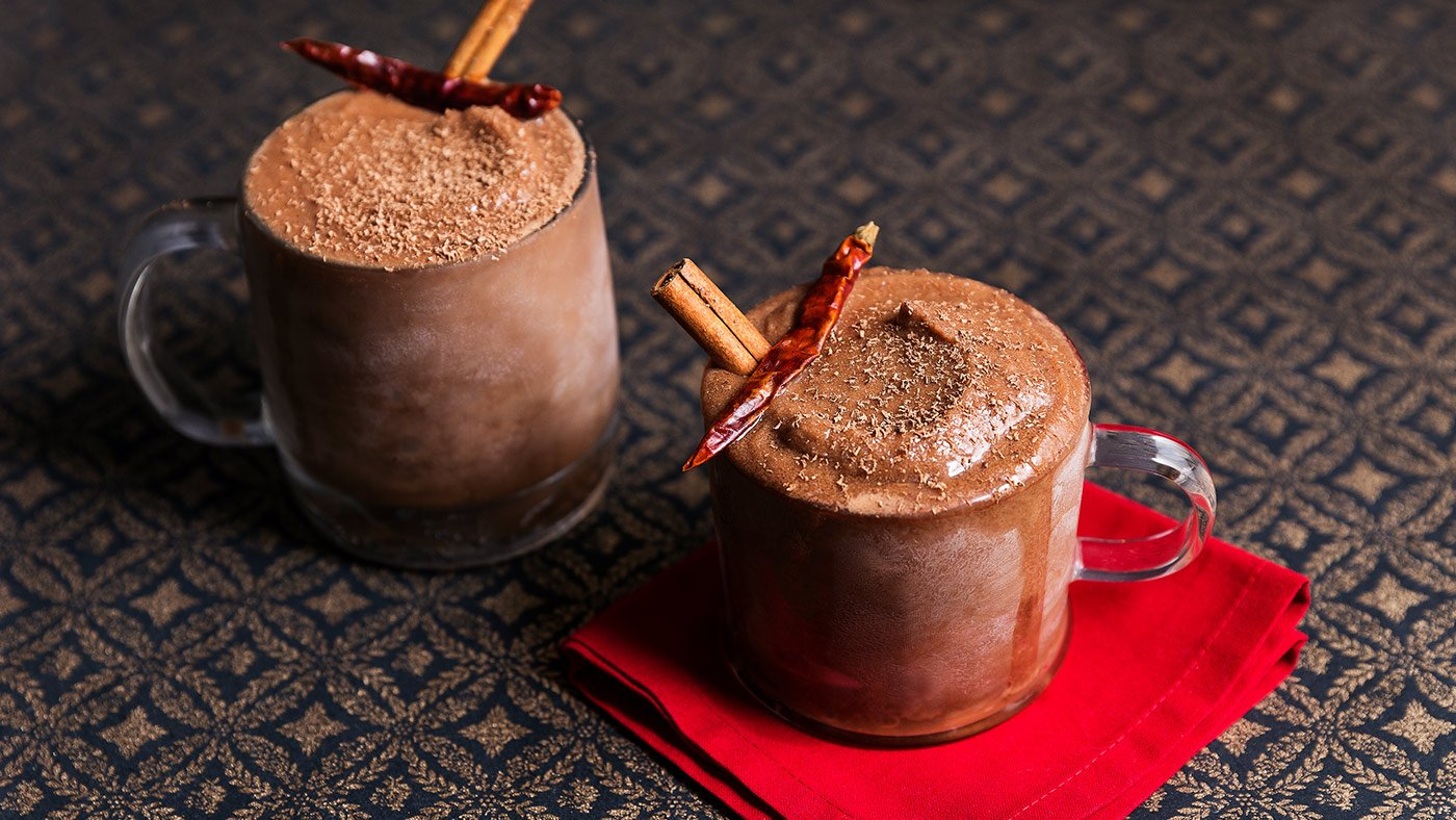 Frozen Mexican Hot Chocolate Is A Delicious Dessert