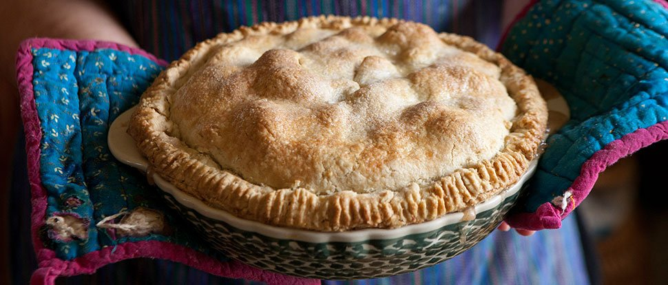 You Can't Go Wrong With A Classic Apple Pie