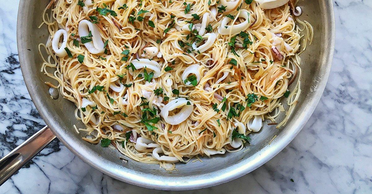Calamari Pasta Is Actually Easier Than It Sounds