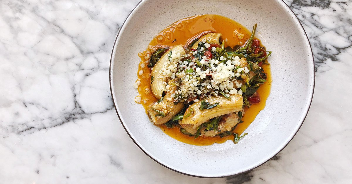 The Sausage-Stuffed Rigatoni That's Too Easy Not To Try