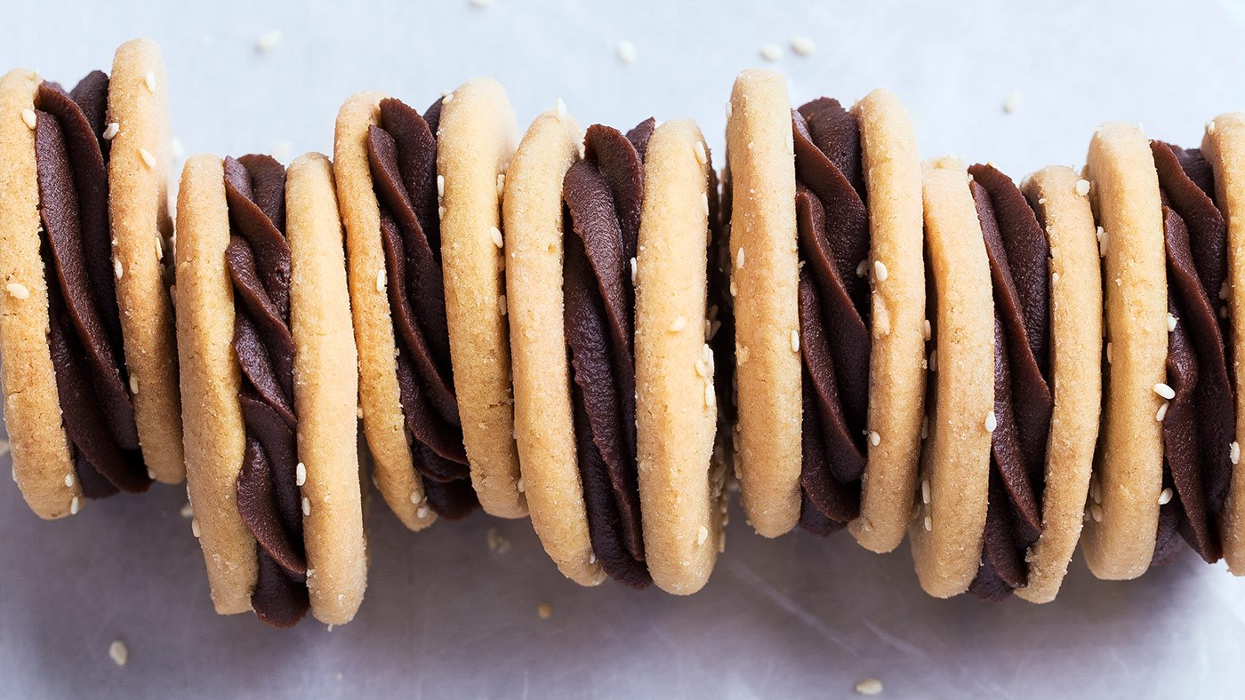 Tahini Shortbread Sandwich Cookies Are A Sweet Treat For Every Foodie