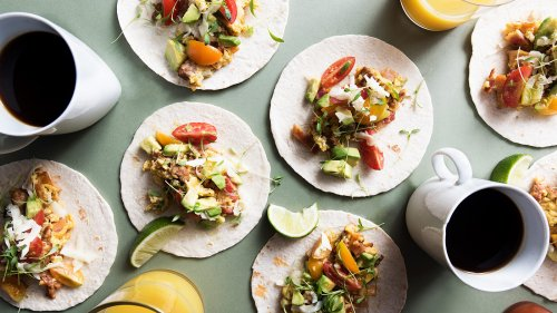 Rise And Shine With These Simple Breakfast Tacos