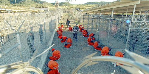 Empire Politician - 2002: Holding Prisoners at Guantánamo and Denying Them POW Status