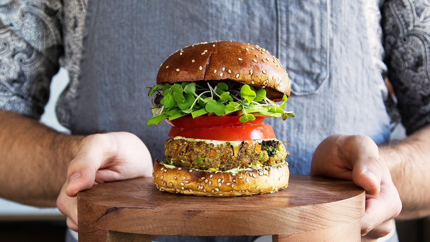 A Quinoa Veggie Burger That's Even Better Than The Real Thing