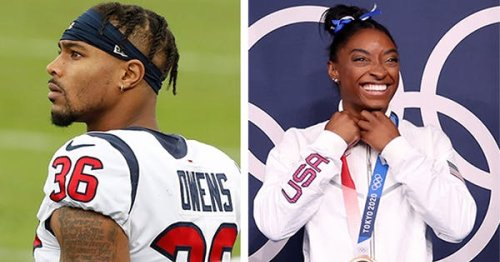Jonathan Owens Shares Tribute to Girlfriend Simone Biles After Her Bronze Medal Win