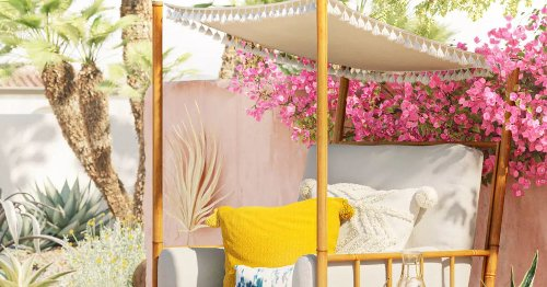 FYI, Target Is Hiding Some of the Coolest Backyard Furniture & Decor We've Seen
