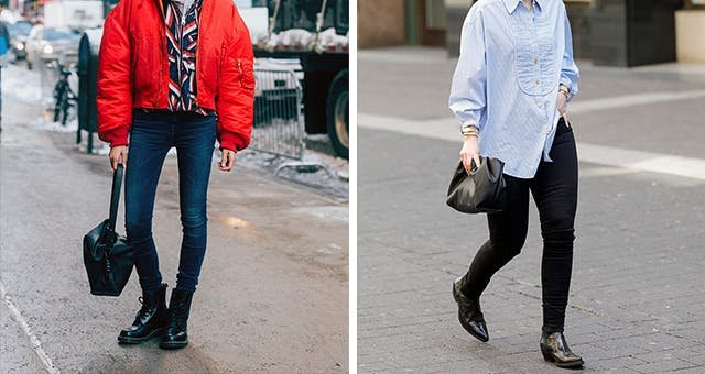 Wondering How to Wear Ankle Boots With Skinny Jeans? Just Follow These Style Rules and You'll Be Good to Go