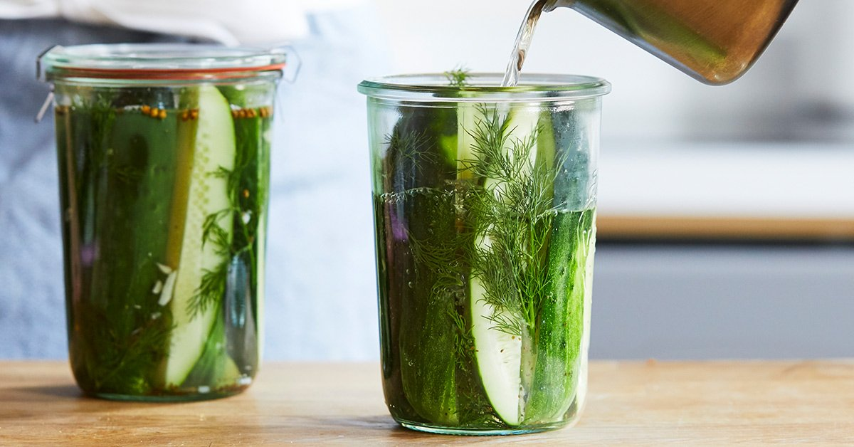 This Is The Only Way To Make Perfect Dill Pickles