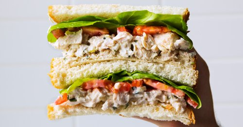 Sous-Vide Chicken Salad Puts All Others to Shame