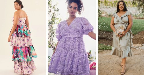 The 9 Best Places to Shop for a Plus-Size Wedding Guest Dress