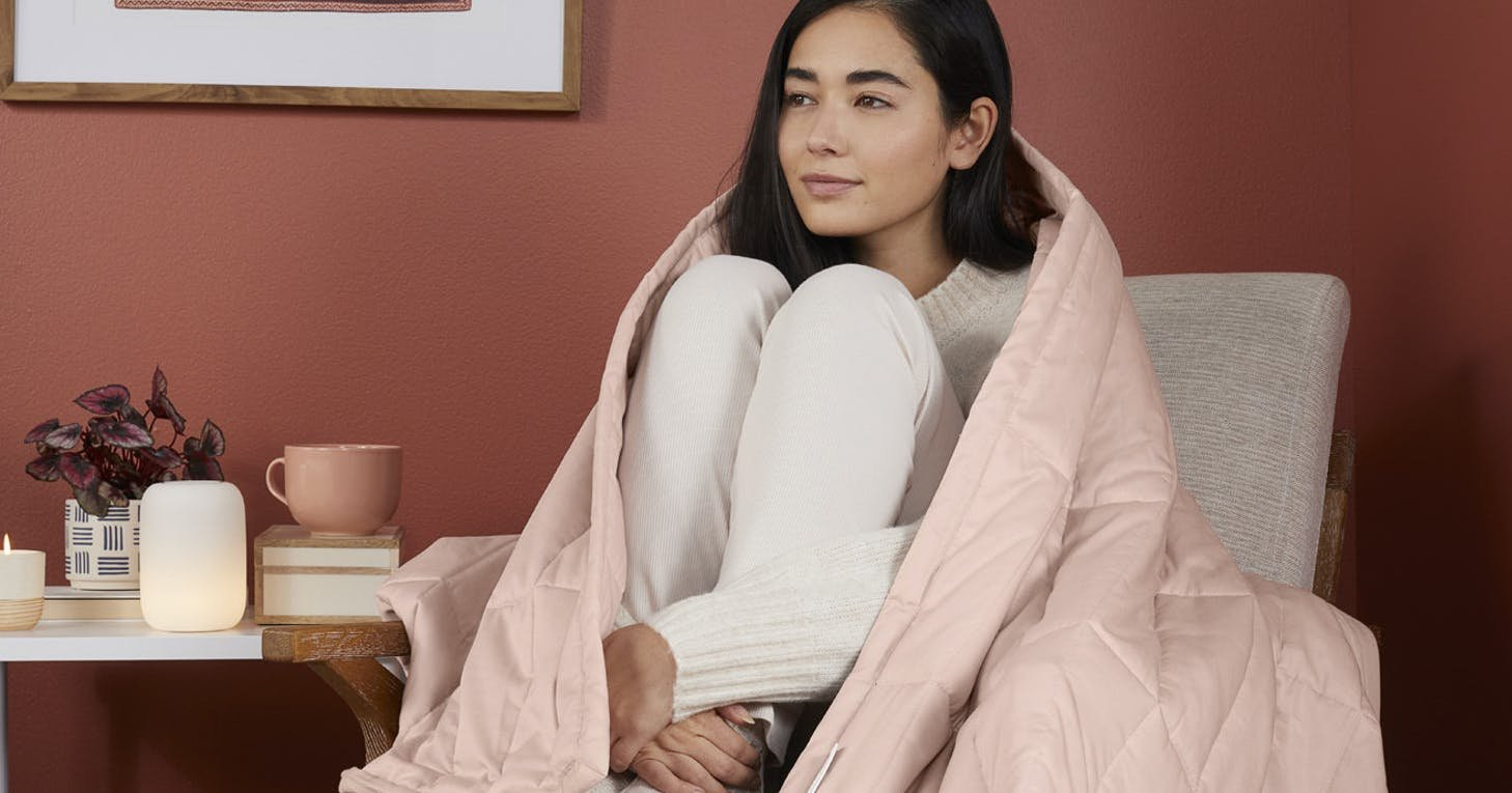 The Best Cooling Weighted Blanket for Hot Sleepers (& People Who Just Want to Chill Out)