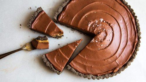 Chocolate-Hazelnut Buckwheat Tart